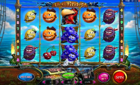 lucky pirates slot เกมสล็อตออนไลน์